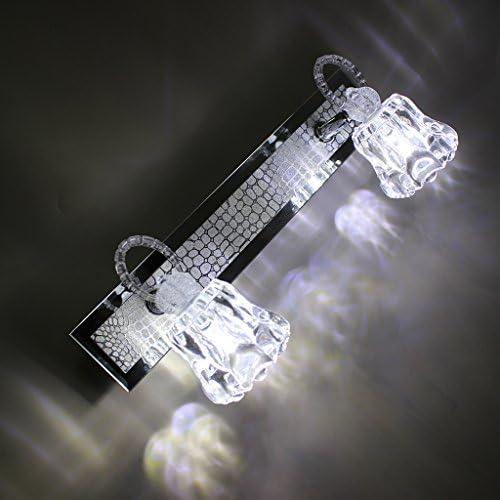 . LED-Spiegel-Licht, Toiletten-Wand-Licht-Make-uplampen-wasserdichte Gegenuhr-Nachtbeleuchtung (Color : White light)