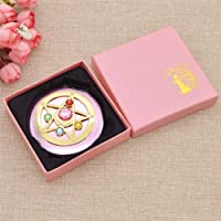 ComStore(TM) Mini Anime Sailor Moon Make up Cosmetic Mirror Portable for Lady Women Beauty