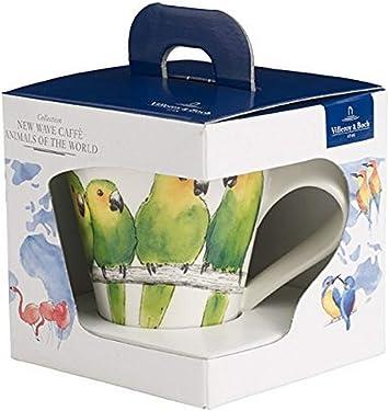 Verde Altura: 11 cm 300 ml Villeroy /& Boch NewWave Caff/è Taza de caf/é Mariposa Cejialba Porcelana Premium