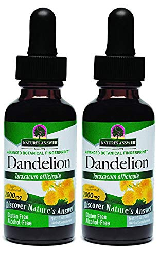 Nature's Answer Alcohol-Free Herbal Supplement, Dandelion Root, 1-Fluid Ounce
