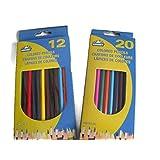 32 Colored Pencils, Coloring, crayons de couleurs
