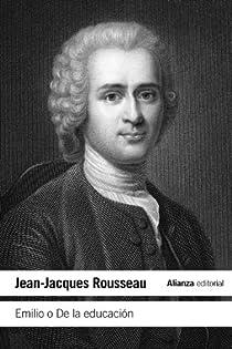 Emilio o De la educación par Rousseau