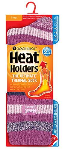 Heat Holders - Womens Original Ultimate Thermal Socks, One size 5-9 us (Appleby 1847)