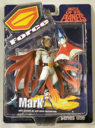 Battle of the Planets G Force Mark the Leader with Mask plus Summit Jet and Sonic Boomerang