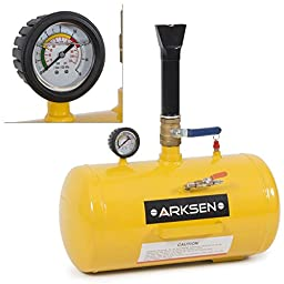 ARKSEN Bead Seater Blaster Tire, 10 Gallon, Yellow