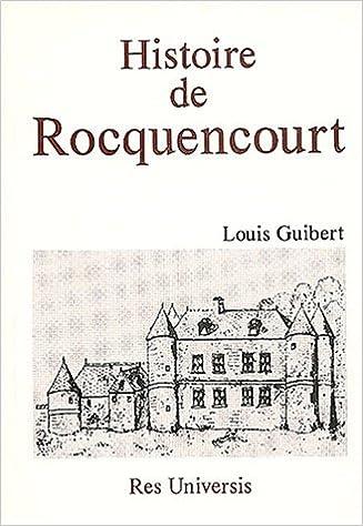 Livre Histoire de Rocquencourt pdf, epub