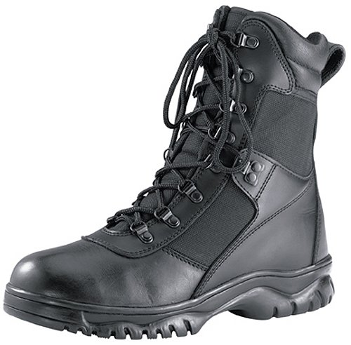 Forced Entry Black Tactical Boots, Black, 11 Reg (Black Swat Leather Tactical Boot)