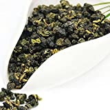 Organic Taiwan Jin Xuan Oolong Tea Milk Flavor Taste Green Loose Leaf Formosa High Mountain Wulong Grown Caffeine Medium for Detox Weight Loss US FDA Sgs Verified