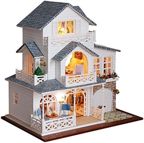 Injoyo Dollhouse MiniatureFurniture and LED Lights DIY Kit 124 Scale Mini Dolls House Model Accessories (European Town) / Injoyo Dollhouse MiniatureFurniture and LED Lights DIY Kit 124 Scale Mini Dolls House Model Accessories (Euro...