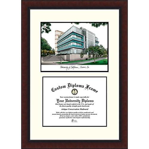 Image of Campus Images CA933LV University of California, Irvine Legacy Scholar Diploma Frame, 8.5' x 11' Document Frames