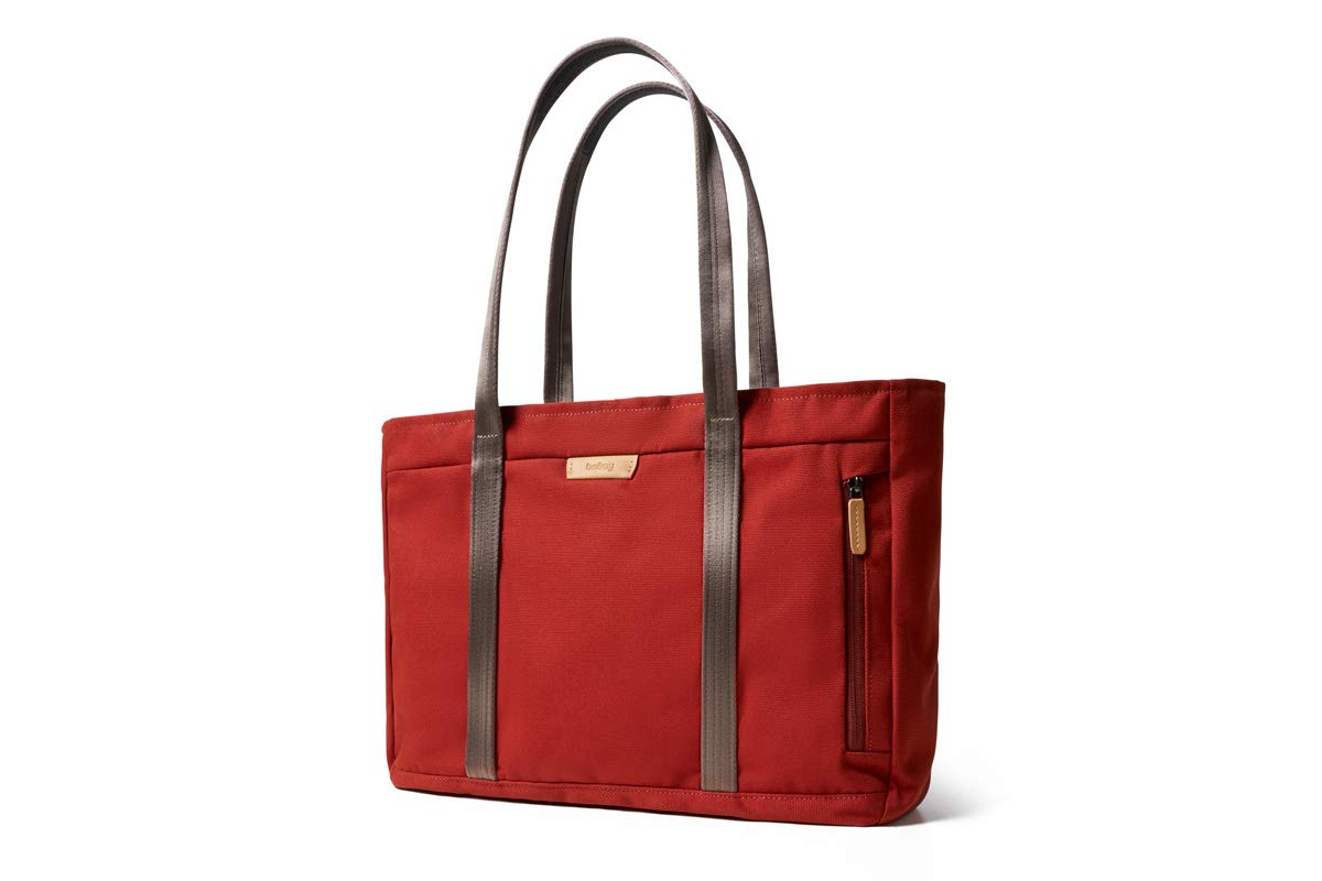 Bellroy Classic Tote (15 liters, 15'' Laptop, Spare Jacket, Headphones, Wallet, Phone) - Red Ochre by Bellroy (Image #1)
