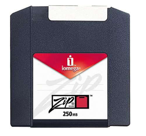Iomega PC-Formatted 250 MB Zip Disks 4-Pack, Sku 11066 (Discontinued by Manufacturer) by Iomega