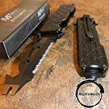 Best Mtech USA Cheap Pocket Knives - MOON KNIVES MTECH Spring Assisted BOTTLE OPENER Serrated Review