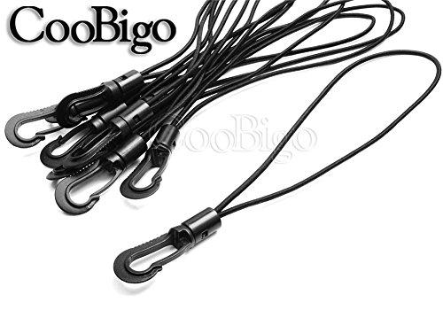 nbsp;mm Kayak 35 Moschettone 10pcs Corda Loop Accessori Con Elastica Cord Outdoor 3 Csf019 Shock Legato Lunghezza Dia nbsp;dimensioni Bungee Plastica Tether 4 6q1vd1