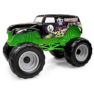 Amazon.com: Grave Digger Colossal Crusher Toy Monster Truck: Toys & Games