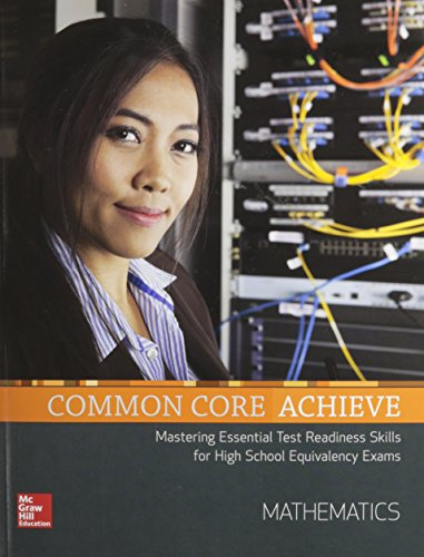 Common Core Achieve, Mathematics Subject Module (BASICS & ACHIEVE)