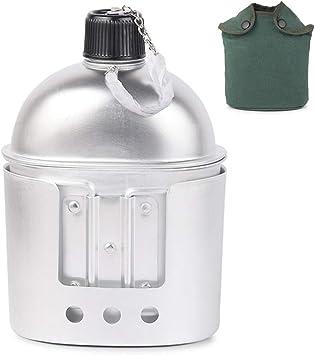 Juego de 3 utensilios de cocina de aluminio militar, con ...