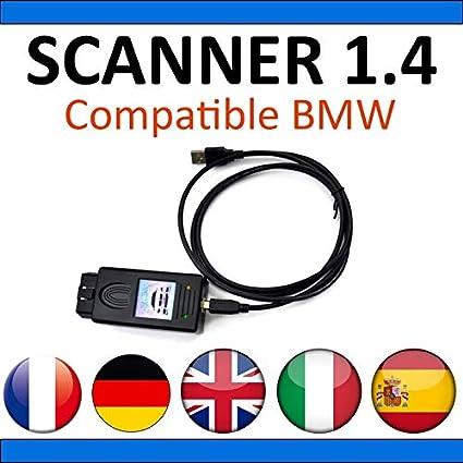 Diagn/óstico Completo y programaciones Diag Auto OBD2 MISTER DIAGNOSTIC Esc/áner 1.4 Compatible con BMW