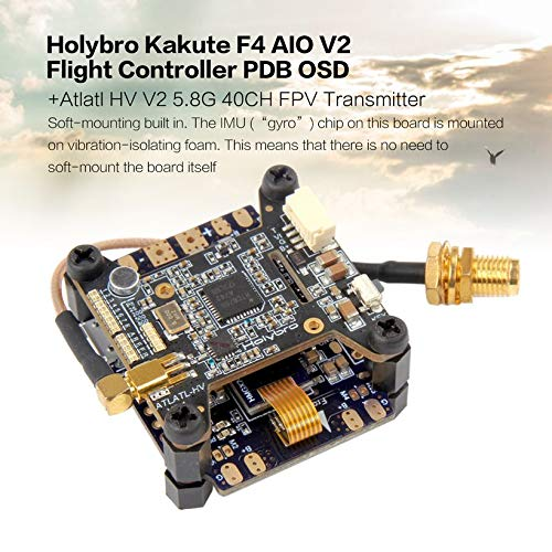 Wikiwand Holybro Kakute F4 AIO V2 Flight Controller OSD+Atlatl HV 5.8G 40CH Transmitter by Wikiwand (Image #1)