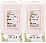 Essential Oils - Micellar Makeup Remover Facial Wipes 60 CT Pack of 2