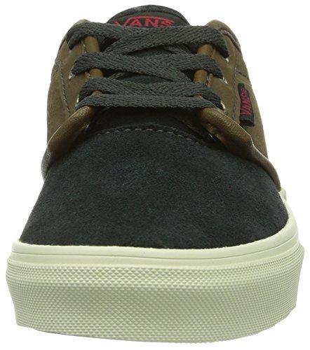 Vans Y ATWOOD (LEATHER SUEDE) - zapatilla deportiva de cuero infantil Schwarz ((Leather Suede) ETK)