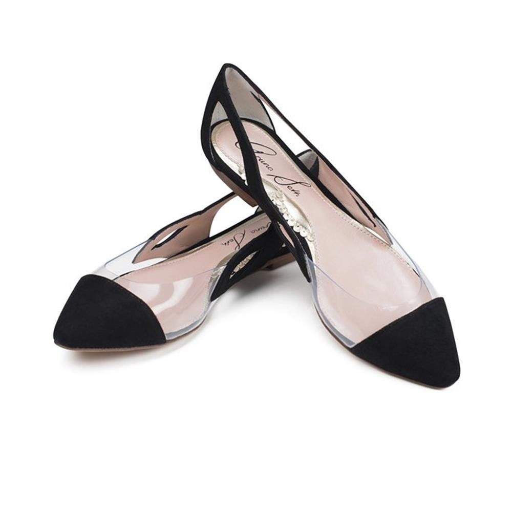 Aruna Seth Damen Ballerinas Schwarz schwarz 38 Schwarz - schwarz - Größe  35