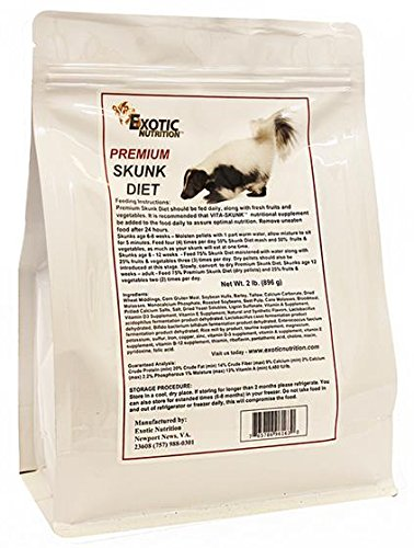 Exotic Nutrition Premium Skunk Diet 5 lb.