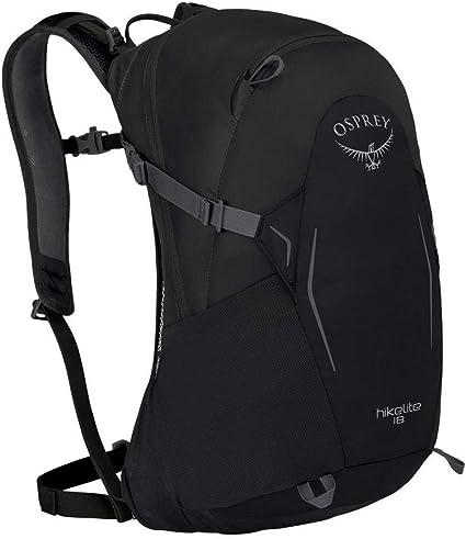 Osprey hikelite 18 S Sac à dos randonnée Jour Sac à dos Black Noir