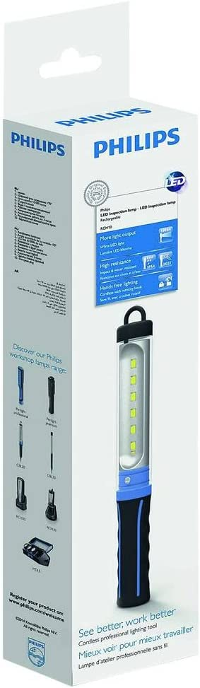 Philips LPL20X1 LED Arbeitsleuchte RCH10 mit Akku: