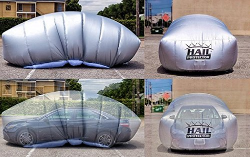 Patented HAIL PROTECTOR Car Cover System for Sedans, Hatchbacks and Wagons