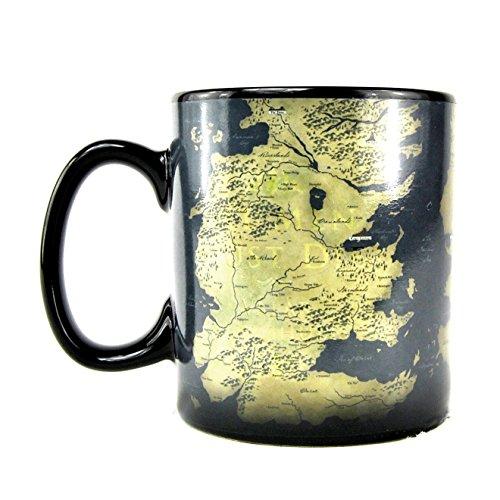 Game Of Thrones Kids Map Design Heat Changing Mug