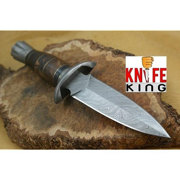 Cuchillo de caza con cuchillo de 33 cm de largo: Amazon.es ...