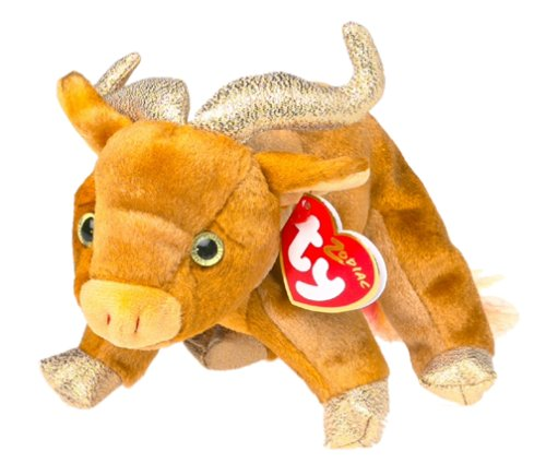 TY Beanie Baby - THE OX Chinese Zodiac