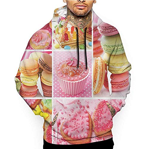 Hoodies Sweatshirt Pockets Colorful,Abstract Optic Pattern,Zip up Sweatshirts for Women