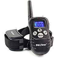 Petrainer Upgraded Version Dog Shock Collar 900 ft Remote Dog Training Collar with Beep/Vibration/Shock Electric Dog Collar for Dogs, Rechargable & Rainproof