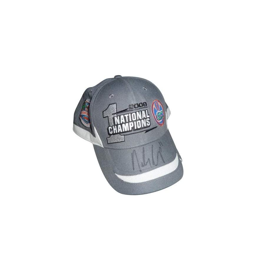 Riley Cooper Autographed Signed Auto Florida Gators Game Worn 2009 BCS Hat worn during post game Celebration Certified Authentic
