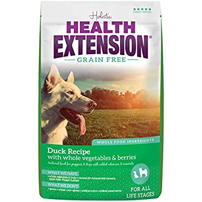 Health Extension Grain Free Dry Dog Food - Duck Recipe