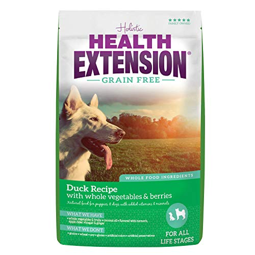 Health Extension Grain Free Dry Dog Food – Duck Recipe