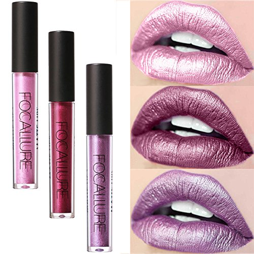 Lip Glosses Professional Girls Make-up Lipstick Long-lasting for Women by TOPUNDER F