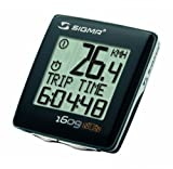 Sigma BC 1609 STS Double Wireless Bicycle Speedometer