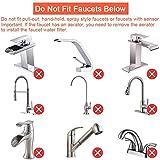 Hereta Faucet Mount Water Filter SUS304 Stainless