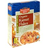 Arrowhead Mills Organic Kamut Flakes, 12-Ounce Boxes (Pack of 6)