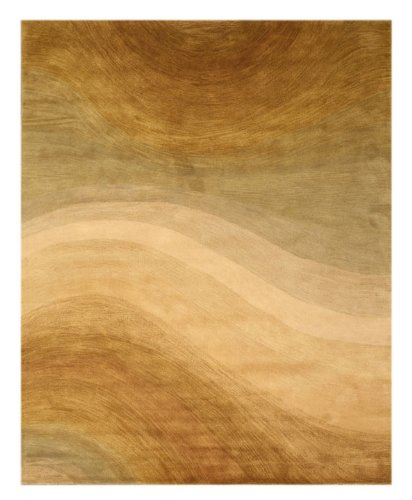 Eorc Wool (EORC T69BE Hand Tufted Wool Morono Rug, 5-Feet by 8-Feet,)