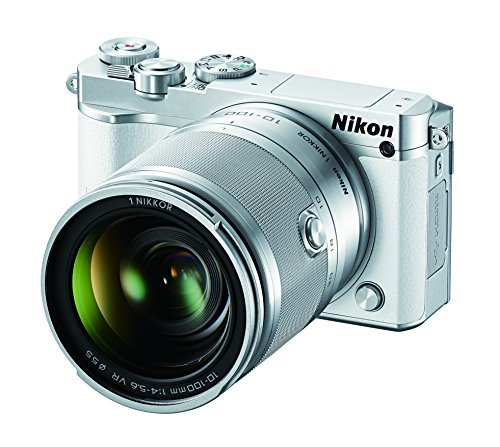 Nikon-1-J5-Mirrorless-Digital-Camera-w-10-100mm-Lens-White-Color-White-Style-Body-w-10-100mm-Model-27710-Electronic-Store-More