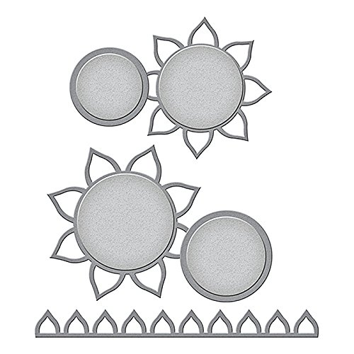 Spellbinders Sunflower Photo Holder Etched/Wafer Thin Dies