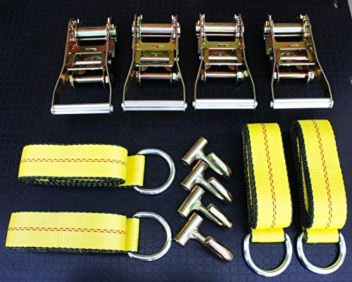 (12 items) Combo 4 Lasso Straps Wheel Lift Strap 4 2