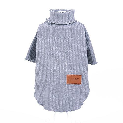 Pinkdose Gris, S: Hoopet Vêtements À Tricoter Chien Chiot Printemps Été Petite Robe De Vêtements T-shirt Été De Chat