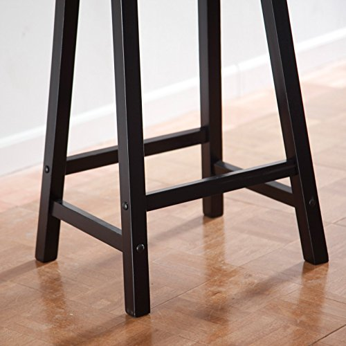 Winsome Wood Saddle Seat Stool