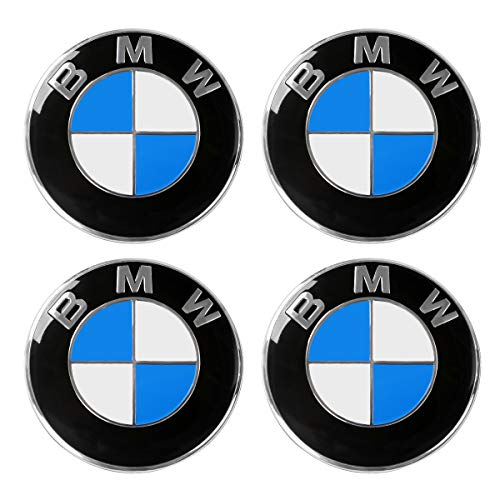 (ORFORD Wheel Center Hub Caps Fit for BMW, 4PCS 68mm/2.7
