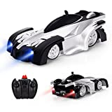 Baztoy Remote Control Kids Wall Climbing Dual Modes 360°Rotation Stunt Zero Gravity RC Cars Vehicles Toys Children...